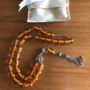 Jewelry - Vintage Amber Prayer Beads from Mykonos